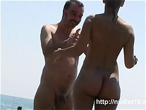 i love to be naked on the naked beach