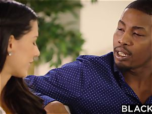 BLACKED first bi-racial For Spanish stunner Alexa Tomas