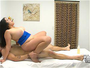 Hidden camera massage couch hookup