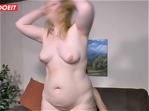 LETSDOEIT - obese girl Gets plumbed rock-hard On bang-out tape