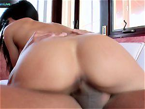 hot girl Jenaveve Jolie loves her messy facial cumshot