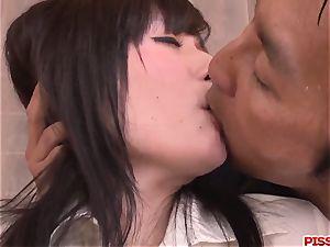 intense blowage and intense hook-up with Tsukushi