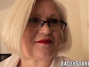 LACEYSTARR - servant GILF bootie stuffed by Pascal white