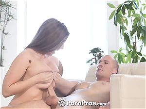 PORNPROS dousing raw coochie torn up with Lena Paul