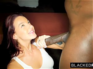 BLACKEDRAW Evelin Stone Will Do ANYTHING For Her big black cock dad