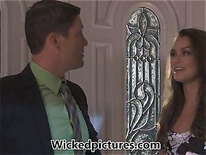 personal secretary Allie Haze penetrates her chief