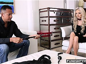 ultra-cute Molly Mae gets tied to the bed and porked really firm