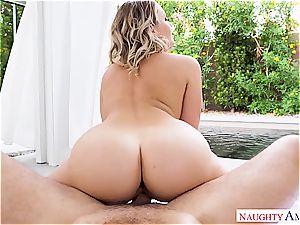 wondrous Mia Malkova's backside gets torn up