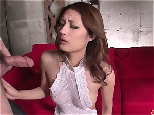 Mind deep-throating asian group hardcore with Riina Fujimoto