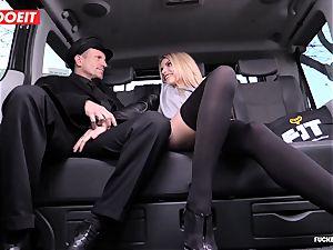 cab Driver cums a few Times In beautiful Czech labia