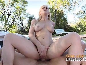 Cherie Deville - wild cougar penetrated rigid