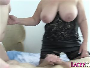 Lacey Starr smashed in Ffm threesome sequence