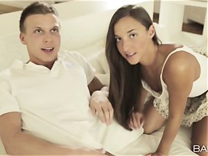 Angel Snow joins in the joy with Amirah Adara and her scorching guy