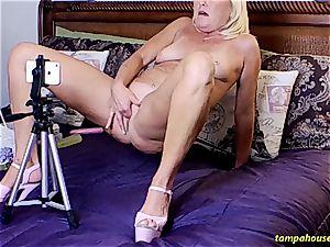 The Skype flash with Ms Paris Rose