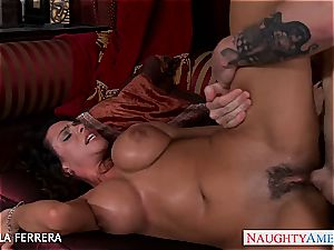 Ariella Ferrera thirsts a co-workers firm boner inside her