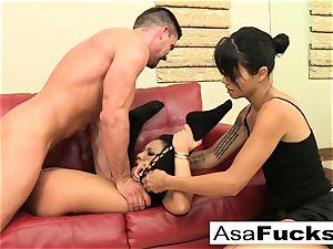 Asa luvs to have herself some hardcore fun