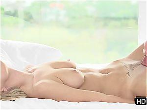 Natalia Starr having romantic fuck-a-thon with Johnny Sins
