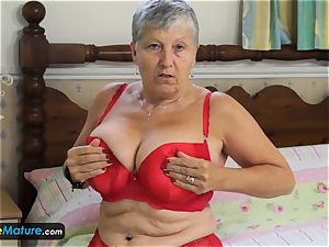 EuropeMaturE grannie inviting Solo Compilation