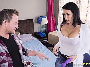 crazy stepmom craves for serious nail