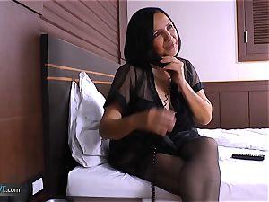 AgedLovE nasty Mature Latina woman hard-core hook-up