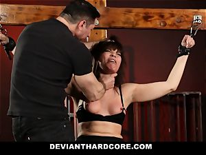 DeviantHardcore-Hot milf pawed and cuffed To Cross