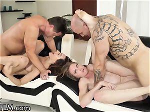 DevilsFilm super-naughty Swinger wifey Caught nailing Neighbor
