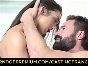 casting FRANCAIS - fledgling ultra-cutie nailed and jizm caked