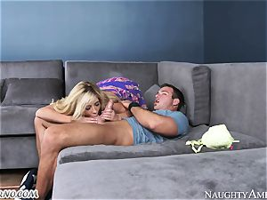 gonzo hook-up with delectable super-cute towheaded Tasha Reign