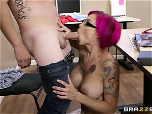 Oh my God! huge-titted schoolteacher Anna Bell Peaks seduces me during lesson