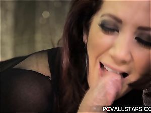 POVAllstars Jayden Jaymes Wants to deepthroat and pokes!