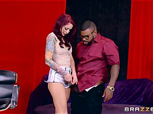 Monique Alexander getting her appetizing vag plumbed by a black man-meat