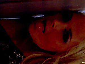 Sarah Vandella exposes her purrfectly lush boobs