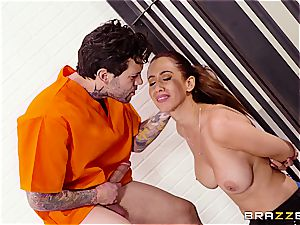 Don't spurt the soap in Brazzers jail