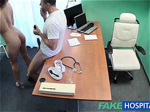 FakeHospital doc pounds minx in job interview