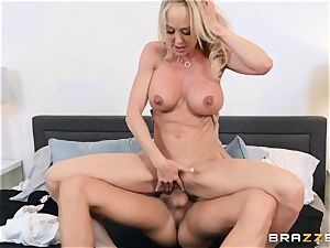Brandi enjoy porked in her moist labia