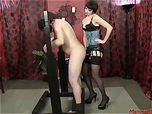 Many female dom mistresses predominate subordinated males