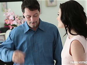 Jessica Rex nailing her step-father