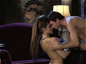 Dani Daniels implementing cogs and hard-ons in her steampung wish