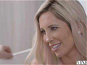 Tasha Reign visits an senior mate with benefits