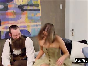 mischievous odd duo takes off when they meet and greet other swingers