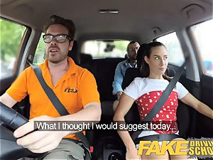 faux Driving college naughty learners sloppy secret