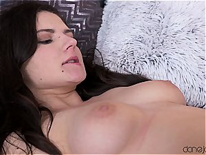 Russian stunner gets torn up and eaten out like a excellent nymph