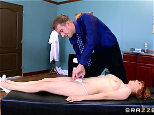 Patient Penny Pax boned by ample dicked doctor