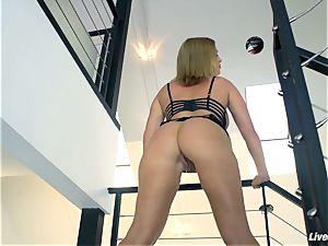 LiveGonzo Krissy Lynn gonzo big-boobed blond