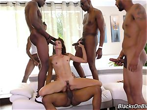 nympho obeys gang Of wild studs