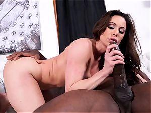 Kendra enthusiasm luving Mandingo 14 inch dark-hued cock