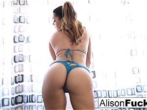 Alison Tyler teases with her electro-hitachi