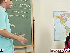 little titted educator India Summer boink her teen schoolgirl