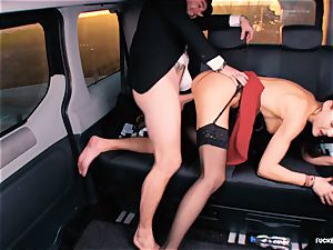 smashed IN TRAFFIC - british Tina Kay romped in the car