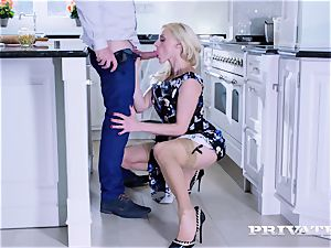 Private.com - Brittany Bardot, ass-fuck in the kitchen
